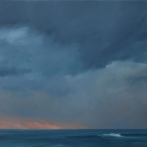 John Morris Artist | Afternoon-Coastal-Storm-76x76cm-oil-on-canvas-2020-web