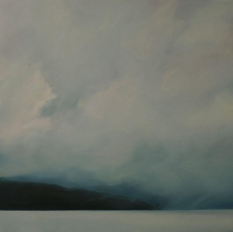 John Morris Artist | Hawkesbury-107x107cm-oil-on-linen-2020-web