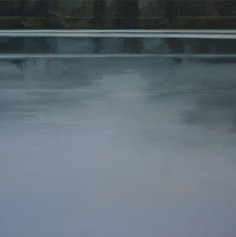 John Morris Artist | River-and-Light.-107x107cm-oil-on-linen-2020_web
